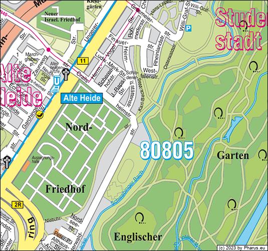 Osterwaldstraße München, 80805 München - Schwabing-Freimann