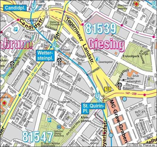 Bad Wiessee Straße München 81547 München Untergiesing